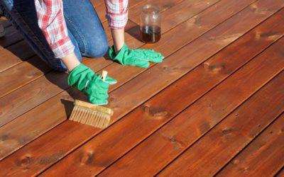 Cómo cuidar y mantener la madera en exteriores