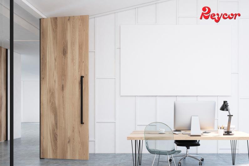 tendencias en puertas de madera para 2019